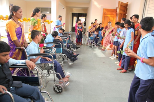 Sewa UK charity builds a rehabilitation centre for children with cerebral Palsy